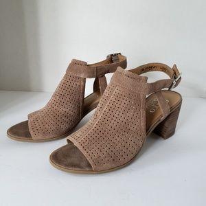 Franco Sarto Monaco Slingback Sandals 7.5M EBW465